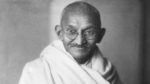 Mohandas Gandhi (b.1869-d.1948)