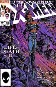 Cover of Uncanny X-Men #198, the basis of Episode #45 of Rachel & Miles X-Plain the X-Men